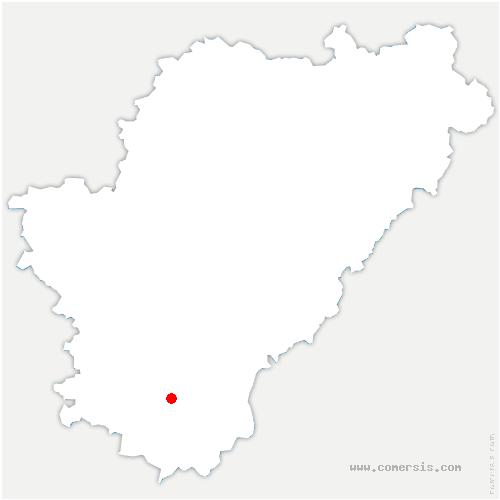 carte de localisation de Saint-Félix