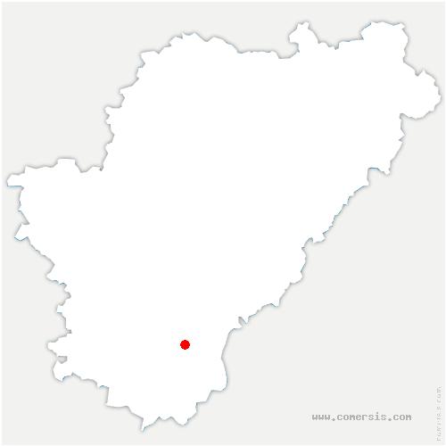 carte de localisation de Saint-Laurent-de-Belzagot