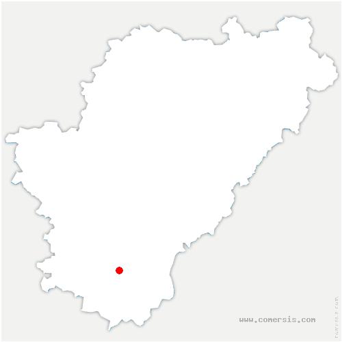 carte de localisation de Saint-Laurent-des-Combes