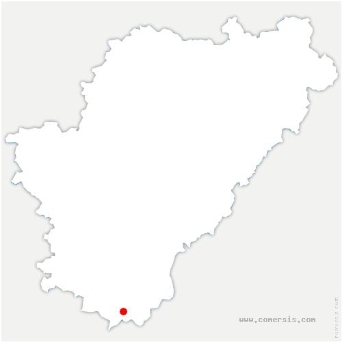 carte de localisation de Saint-Quentin-de-Chalais