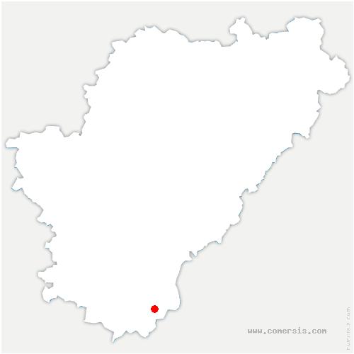 carte de localisation de Saint-Romain