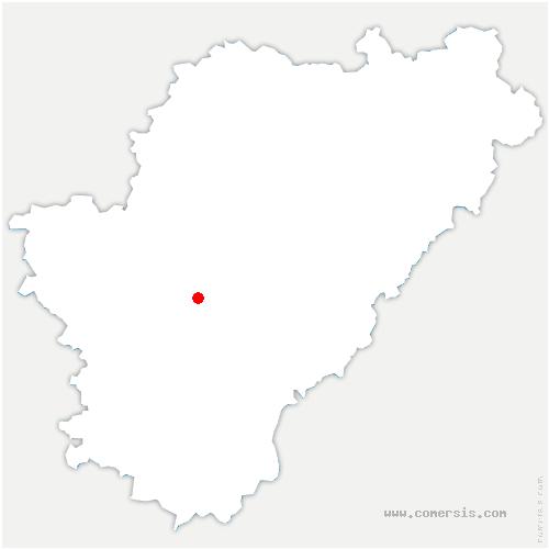 carte de localisation de Sireuil