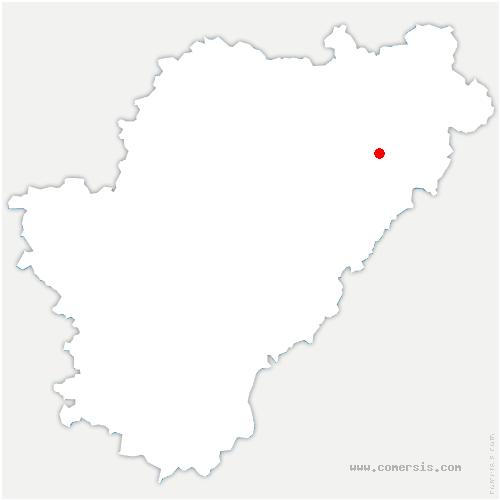 carte de localisation de Terres-de-Haute-Charente