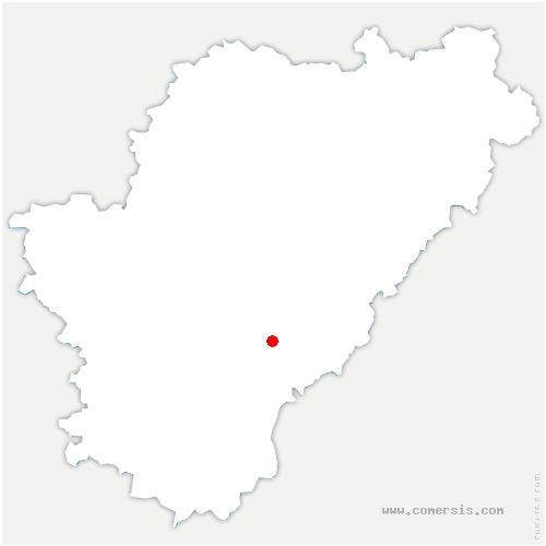 carte de localisation de Torsac