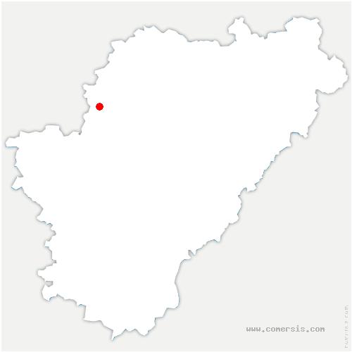 carte de localisation de Val-d'Auge