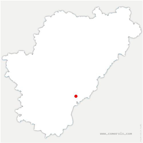 carte de localisation de Villebois-Lavalette