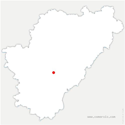 carte de localisation de Vœuil-et-Giget