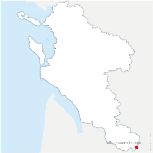 carte de localisation de Barde