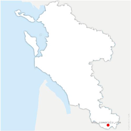 carte de localisation de Clotte