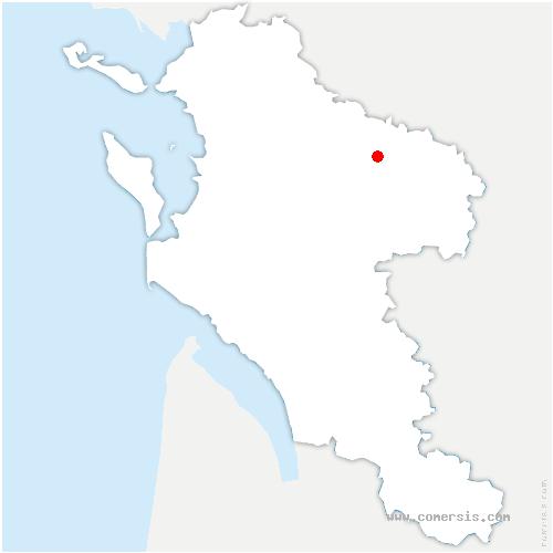 carte de localisation de Saint-Pardoult