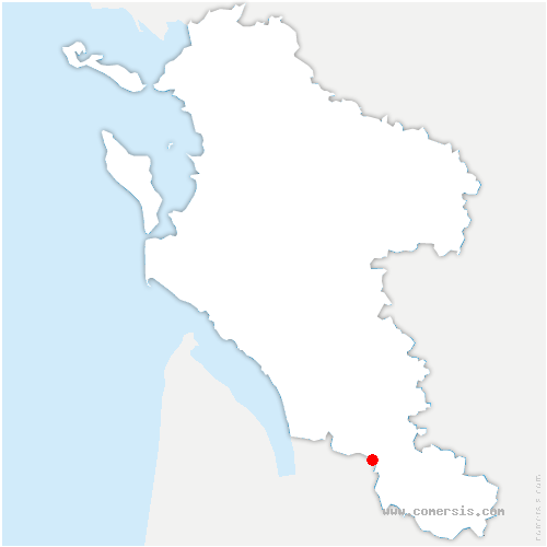 carte de localisation de Souméras