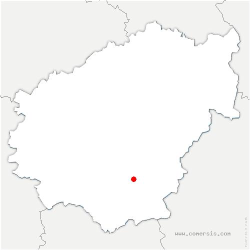 carte de localisation de Argentat-sur-Dordogne