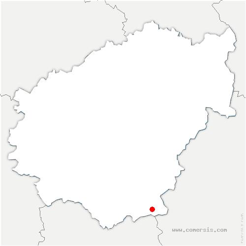 carte de localisation de Camps-Saint-Mathurin-Léobazel