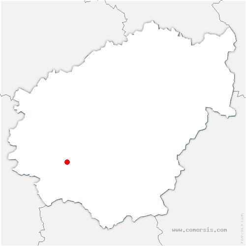 carte de localisation de Malemort
