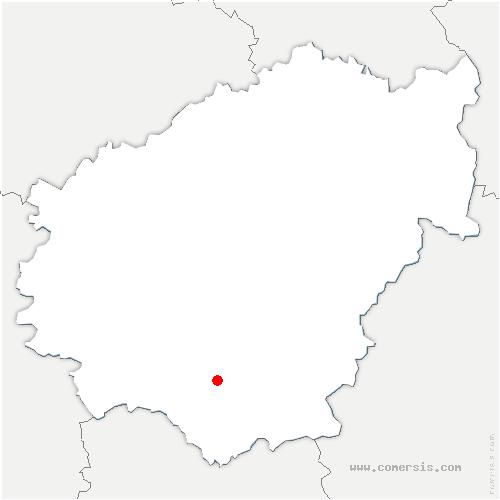 carte de localisation de Pescher