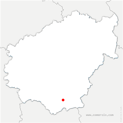 carte de localisation de Reygade
