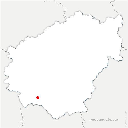 carte de localisation de Turenne