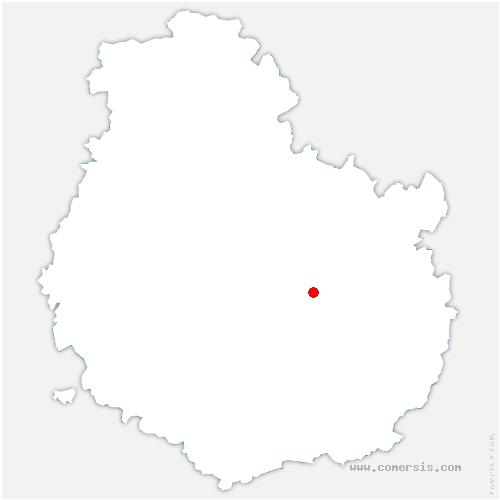 carte de localisation de Ahuy