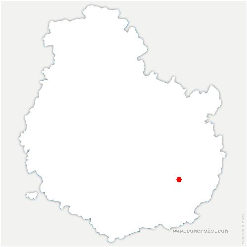 carte de localisation de Aiserey