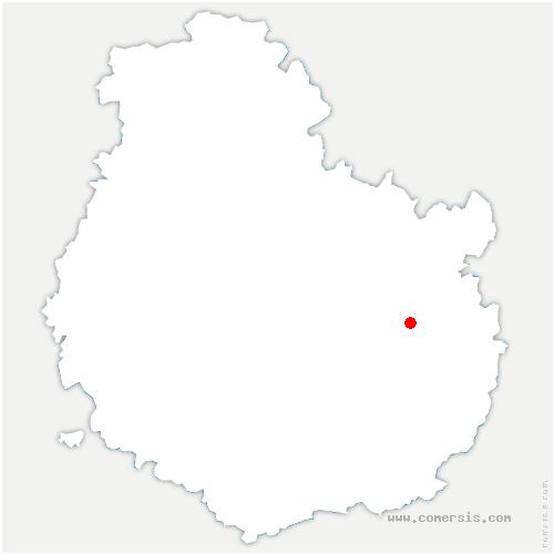 carte de localisation de Arceau