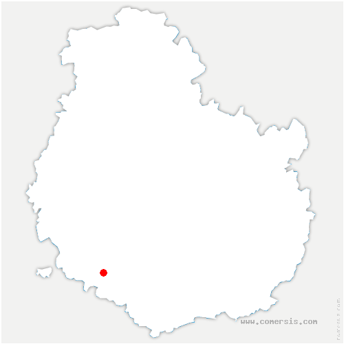 carte de localisation de Arnay-le-Duc