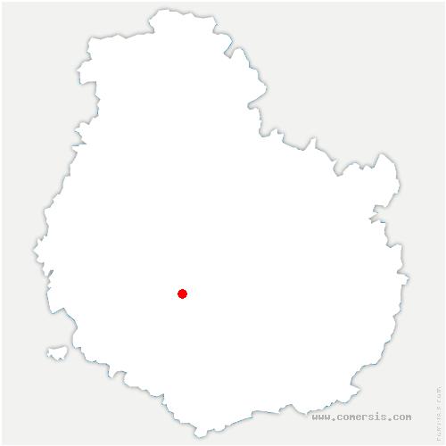 carte de localisation de Aubigny-lès-Sombernon