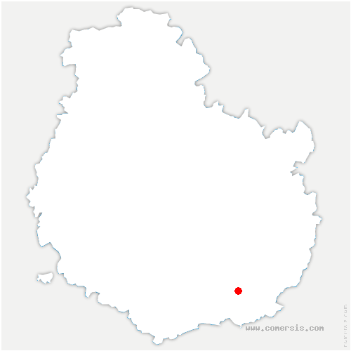 carte de localisation de Auvillars-sur-Saône