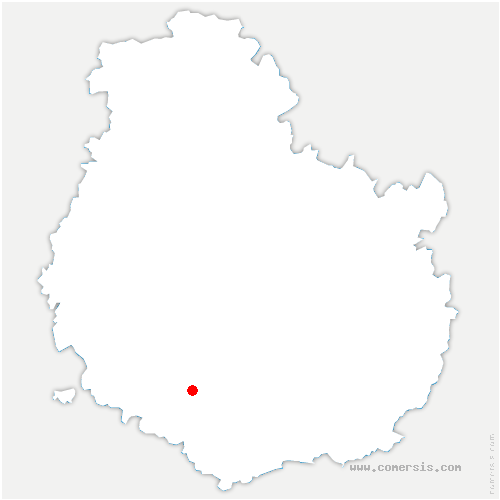 carte de localisation de Auxant