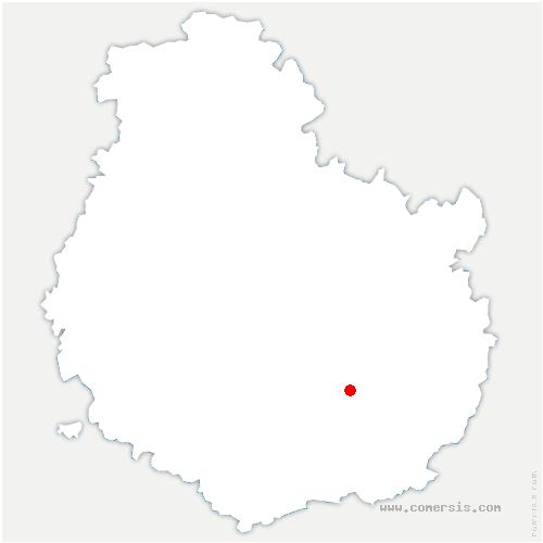 carte de localisation de Barges