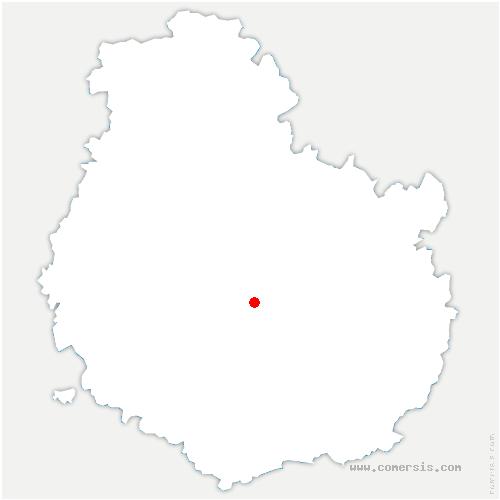 carte de localisation de Baulme-la-Roche