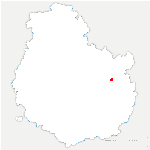 carte de localisation de Beire-le-Châtel