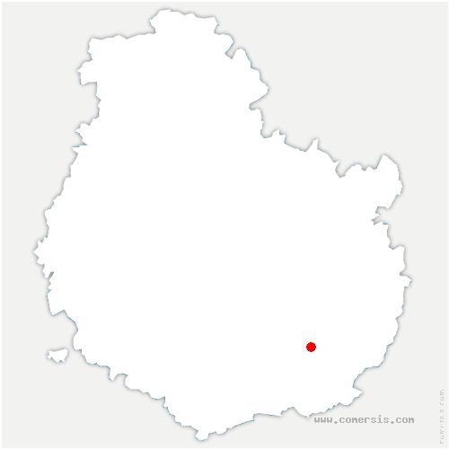 carte de localisation de Bessey-lès-Cîteaux