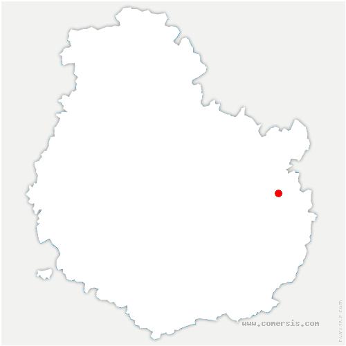 carte de localisation de Bézouotte