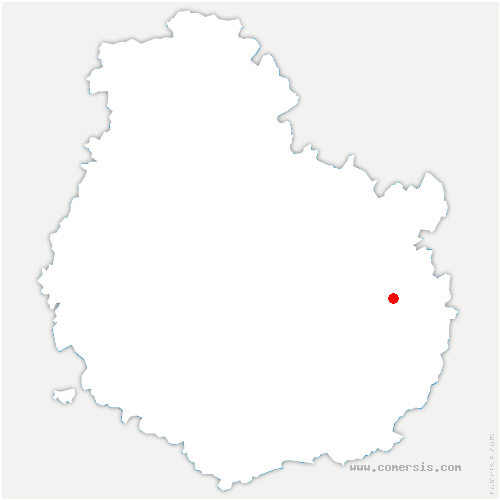 carte de localisation de Binges