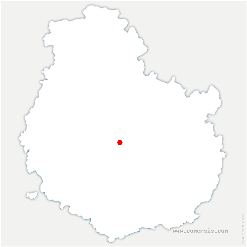 carte de localisation de Blaisy-Haut