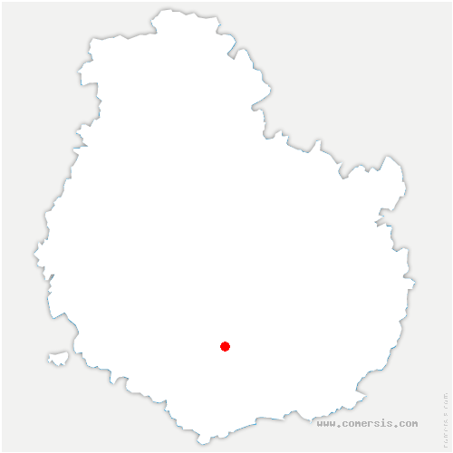 carte de localisation de Bouilland