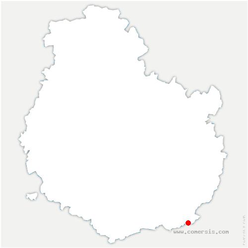 carte de localisation de Bousselange