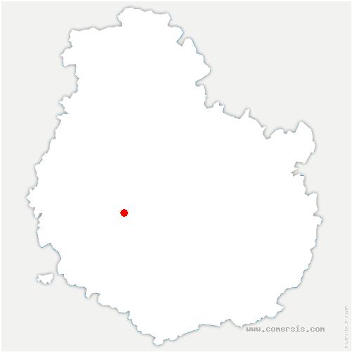 carte de localisation de Boussey