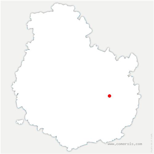 carte de localisation de Bressey-sur-Tille