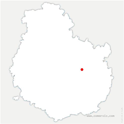 carte de localisation de Bretigny