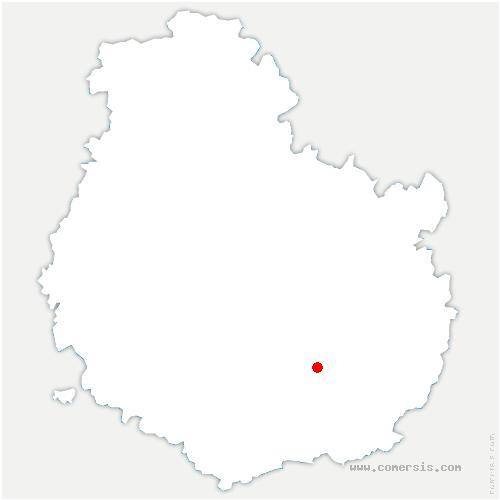 carte de localisation de Broindon