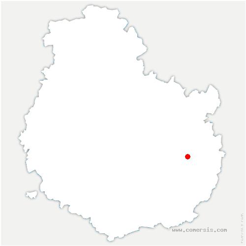 carte de localisation de Cessey-sur-Tille
