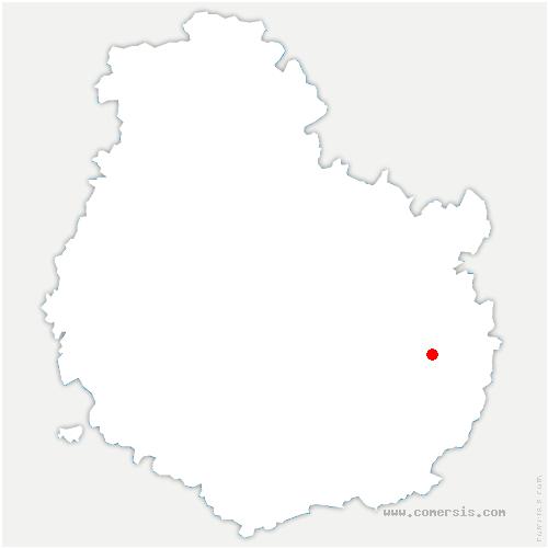 carte de localisation de Chambeire
