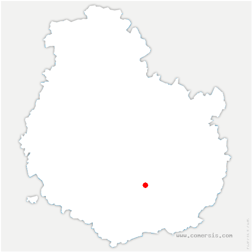 carte de localisation de Chambolle-Musigny