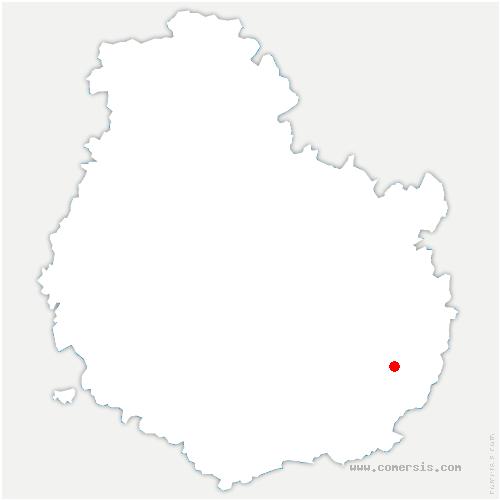carte de localisation de Champdôtre