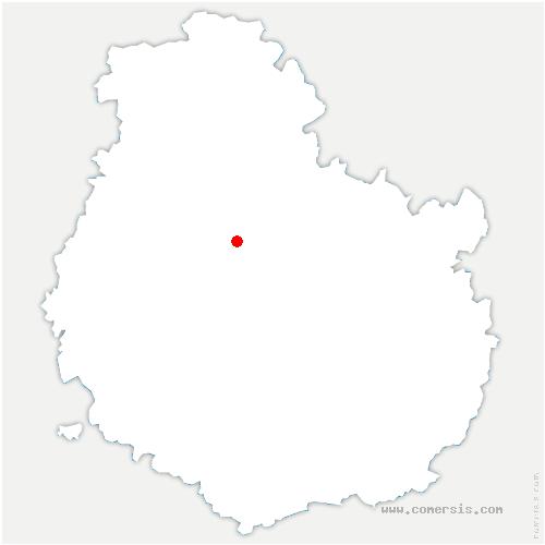 carte de localisation de Chanceaux