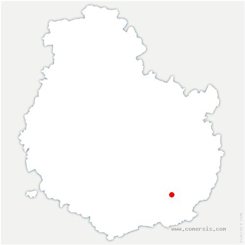 carte de localisation de Charrey-sur-Saône