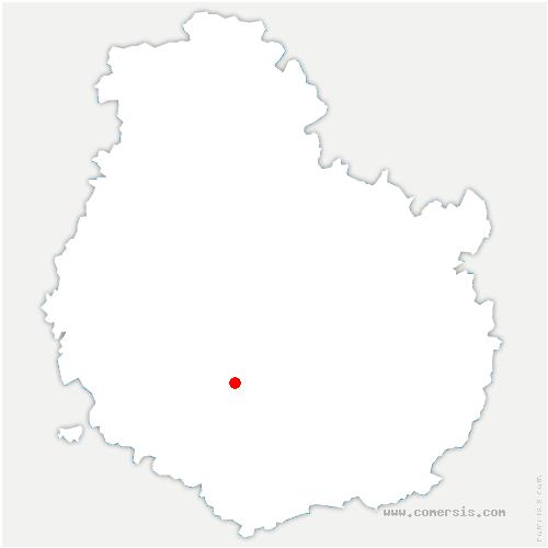 carte de localisation de Châteauneuf