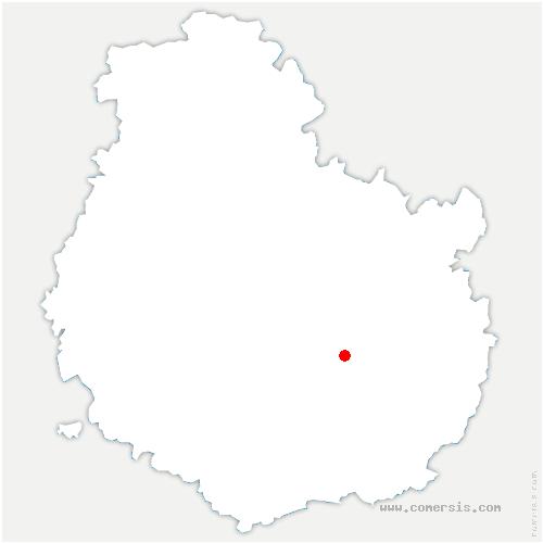 carte de localisation de Chenôve
