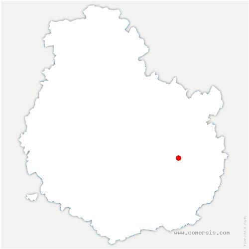 carte de localisation de Chevigny-Saint-Sauveur